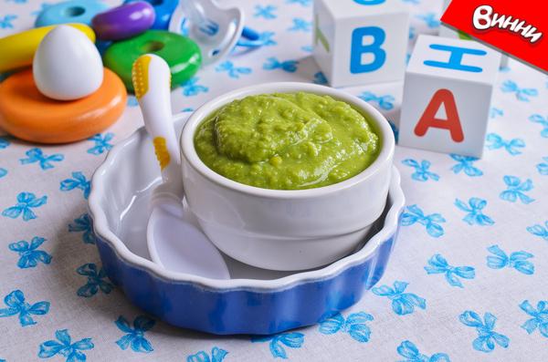 და ქათმის პიურე brokolis da qatmis piure - ბროკოლისა და ქათმის პიურე ( 8 თვიდან)